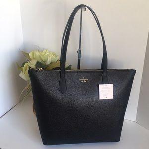 Kate Spade joeley Large Tote Bag black